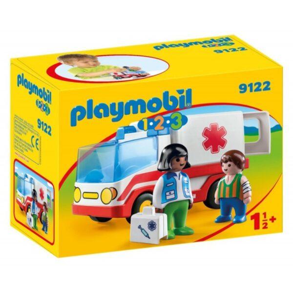 Playmobil γιατρός και ασθενοφόρο Playmobil, Playmobil 1.2.3 Unisex