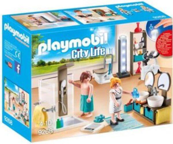 Playmobil Mοντέρνο Λουτρό Playmobil, Playmobil City Life Unisex