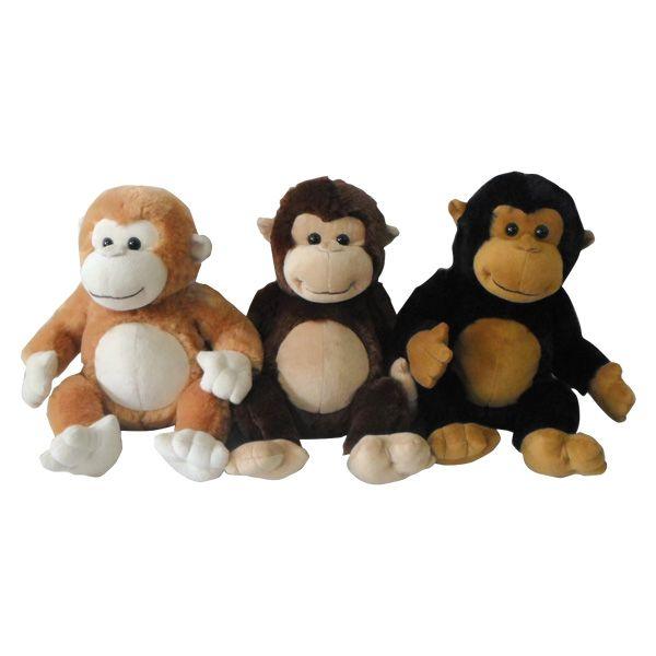 Ami Plush Μαϊμού 3 Χρώματα Ami Plush Αγόρι, Κορίτσι 12-24 μηνών, 2-3 ετών