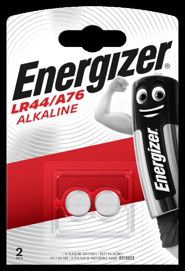 Energizer A76/LR44 Alk FSB2 F016664 2τμχ Energizer