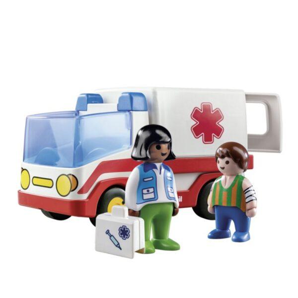 Playmobil, Playmobil 1.2.3  Playmobil γιατρός και ασθενοφόρο Unisex
