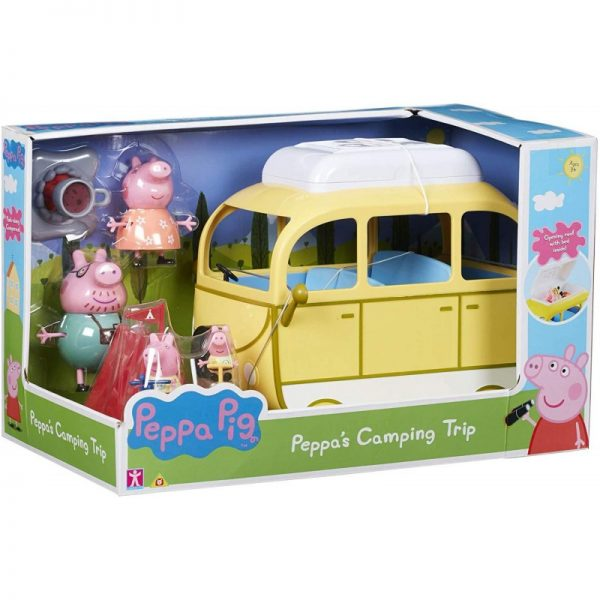 Peppa Pig Όχημα Για Κάμπινγκ Της Πέππα PPC46000 Αγόρι, Κορίτσι 3-4 ετών, 4-5 ετών Peppa Pig Peppa Pig