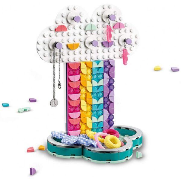 LEGO, Lego Dots Αγόρι, Κορίτσι 5-7 ετών, 7-12 ετών LEGO Dots Σταντ Κοσμημάτων Ουράνιο Τόξο 41905