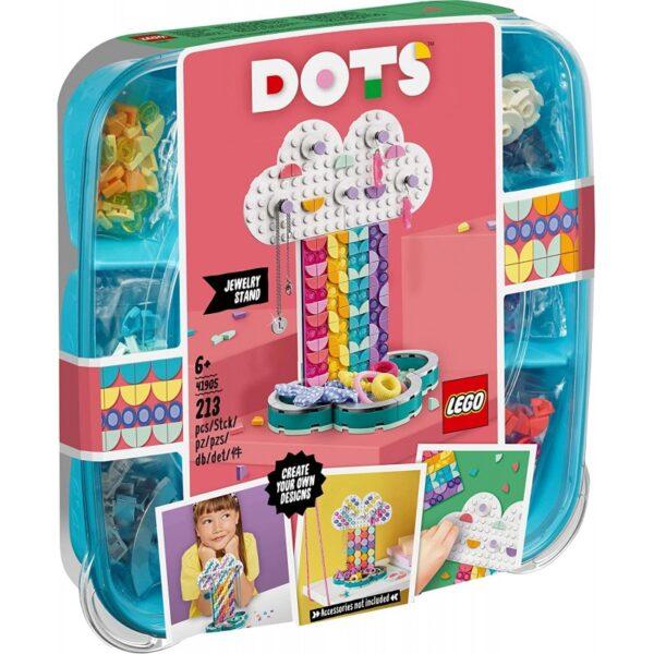 LEGO Dots Σταντ Κοσμημάτων Ουράνιο Τόξο 41905 LEGO, Lego Dots Αγόρι, Κορίτσι 5-7 ετών, 7-12 ετών