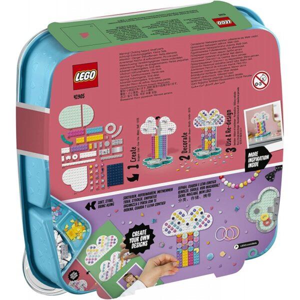 LEGO, Lego Dots LEGO Dots Σταντ Κοσμημάτων Ουράνιο Τόξο 41905 5-7 ετών, 7-12 ετών Αγόρι, Κορίτσι