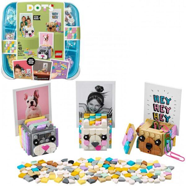 LEGO Dots Στηρίγματα Φωτογραφιών Με Ζωάκια 41904  Αγόρι, Κορίτσι 5-7 ετών, 7-12 ετών LEGO, Lego Dots