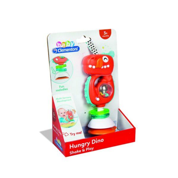 Βρεφικό Παιχνίδι Κρεμαστό Ηλεκτρ. Κουδουνίστρα Δεινόσαυρος 1000-17330  Αγόρι 12-24 μηνών, 6-12 μηνών Baby Clementoni