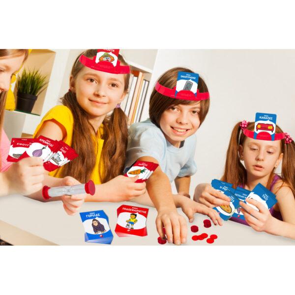 AS Company Games  Παιχνίδια με καρτες: Στο Κεφάλι το χω (1040-21124) 1040-21124 Αγόρι, Κορίτσι 3-4 ετών, 7-12 ετών