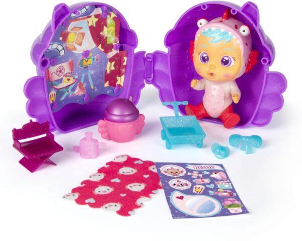 CRY Babies  CRY Babies Μίνι Κλαψουλίνια Μαγικά Δάκρυα Φτερωτό Σπιτάκι gli 1013-90378 Κορίτσι 3-4 ετών, 4-5 ετών