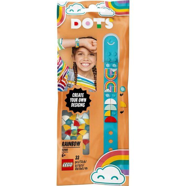 LEGO Dots Βραχιόλι Ουράνιο Τόξο 41900 LEGO, Lego Dots Αγόρι, Κορίτσι 5-7 ετών, 7-12 ετών