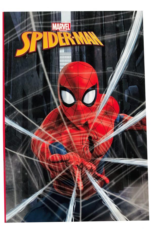 Gim  Τετράδιο 17x25cm Spiderman 337-75400 Gim   Spiderman
