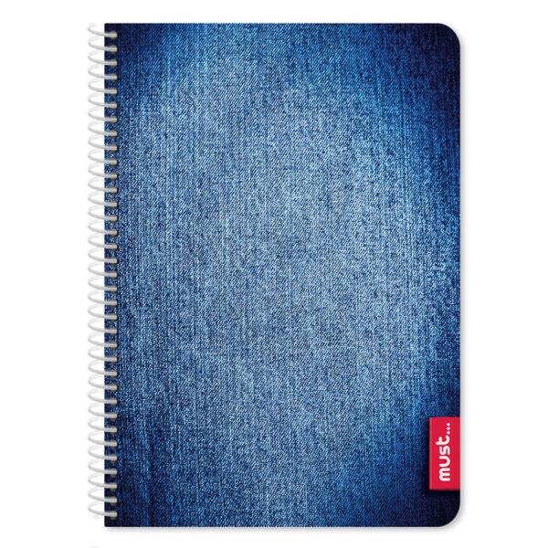 Τετράδιο Σπιράλ Β5 Must Jean 2 Θεμάτων, 64 Σελίδες must Αγόρι, Κορίτσι