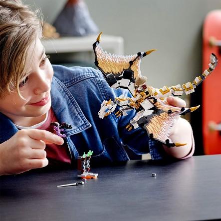 LEGO Δράκος Μάχης του Γου 71718 LEGO, Lego Ninjago 12 ετών +, 7-12 ετών Αγόρι
