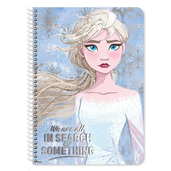 Τετράδιο Σπιράλ Β5 Disney Frozen 2 2 Θεμάτων, 60 Φύλλων Frozen Αγόρι, Κορίτσι  must