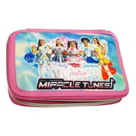 Gim Κασετίνα Διπλή Μiracle Τunes 335-25100 Miracle tunes Κορίτσι