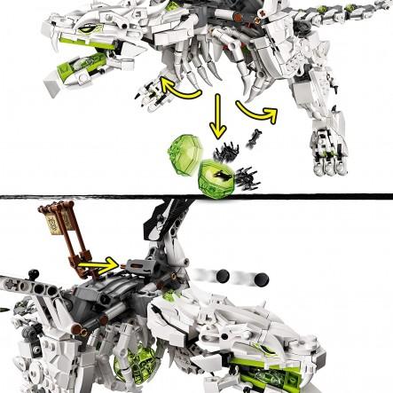 LEGO, Lego Ninjago Αγόρι 12 ετών +, 7-12 ετών LEGO Δράκος του Μάγου του Κρανίου 71721
