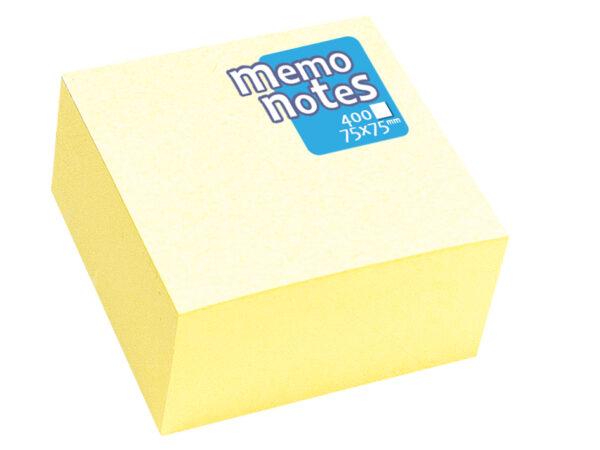 ΤΣΑ-ΦΑΛ  Κύβος 76χ76 Κίτρινος 400 Φύλλων memo notes  Σ33208 ΤΣΑ-ΦΑΛ