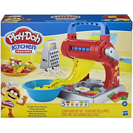 Play-Doh Δημιουργίες Κουζίνας Noodle Party E7776 Play-Doh Αγόρι, Κορίτσι 3-4 ετών, 4-5 ετών