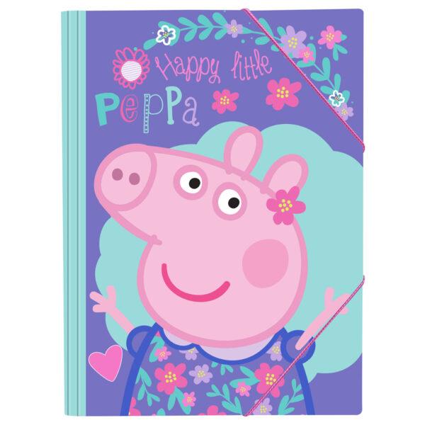 Φάκελος Λάστιχο Peppa Pig 25x35 εκ. must Αγόρι, Κορίτσι