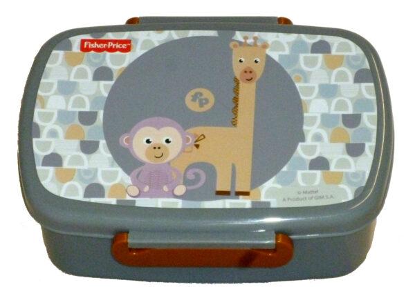 Gim Δοχείο Φαγητού (micro) Giraf.& Monkey Fisher Price 571-46265 Fisher-Price Αγόρι, Κορίτσι