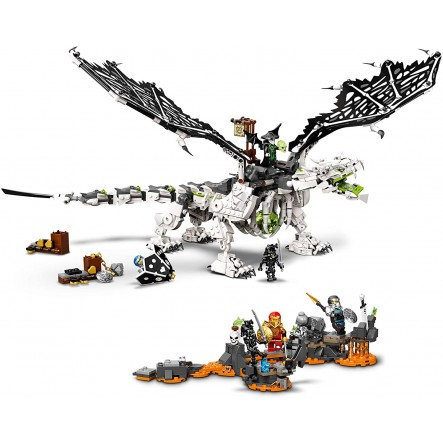 LEGO, Lego Ninjago  LEGO Δράκος του Μάγου του Κρανίου 71721 Αγόρι 12 ετών +, 7-12 ετών