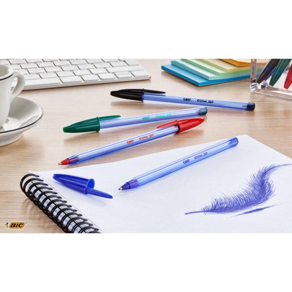 Bic Αγόρι, Κορίτσι  Bic Στυλό  Cristal Soft Μπλε BL4 918527