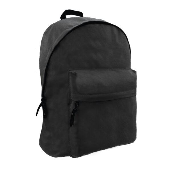 Τσάντα Πλάτης Εφηβική Mood Omega Μαύρη με 2 Θήκες MOOD Αγόρι, Κορίτσι 12 ετών +
