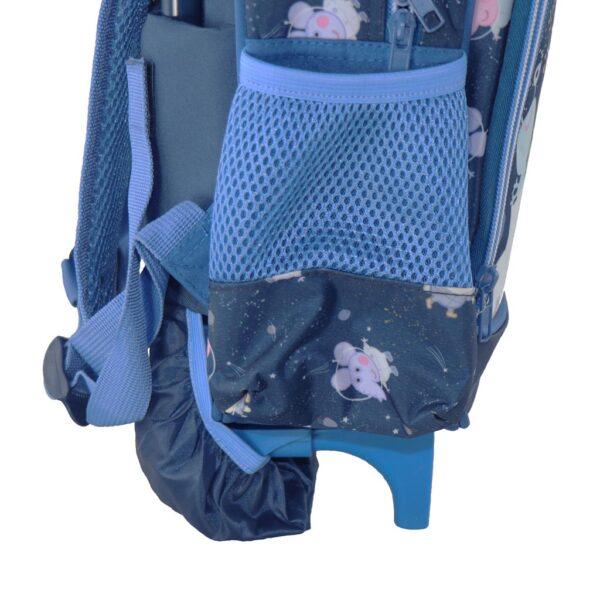 Τσάντα Τρόλλεϋ Νηπιαγωγείου George Pig με 2 Θήκες  Αγόρι, Κορίτσι MOOD
