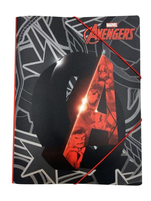 Gim  Ντοσιέ Λάστιχο.ρρ α4 Avengers 337-28515 Gim   Avengers