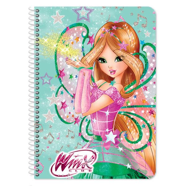 Τετράδιο Σπιράλ Β5 Winx 2 Θεμάτων, 60 Φύλλων σε 2 Σχέδια WINX Αγόρι, Κορίτσι