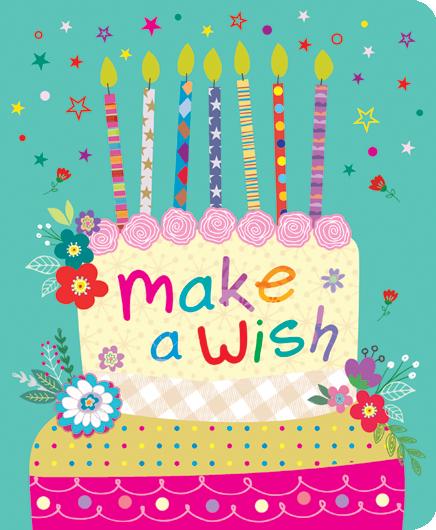 Ευχετήρια Κάρτα  Petite make a wish