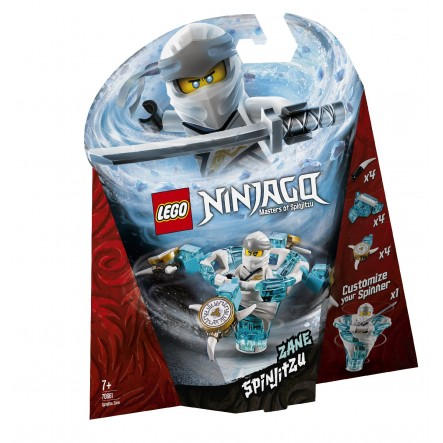 LEGO Ninjago Σπιντζίτσου Ζέιν - Spinjitzu Zane 70661 LEGO, Lego Ninjago Αγόρι