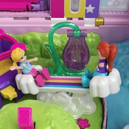 Polly Pocket Unicorn Party Μονόκερος Πινιάτα Έκπληξη Σετ GVL88 Κορίτσι 4-5 ετών, 5-7 ετών  Polly Pocket