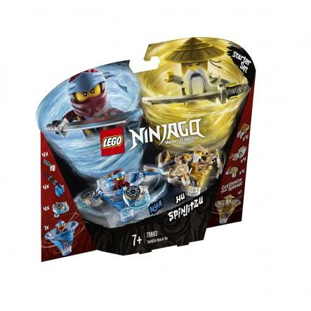 LEGO Ninjago Σπιντζίτσου Νία Και Γου - Spinjitzu Nya And Wu 70663 LEGO, Lego Ninjago Αγόρι