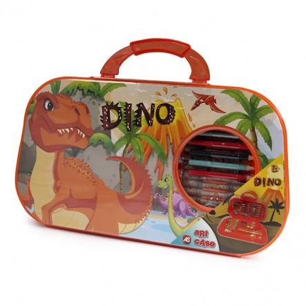 Art Case Σετ Ζωγραφικής Δεινόσαυρος 1023-66218 AS Company Games Αγόρι