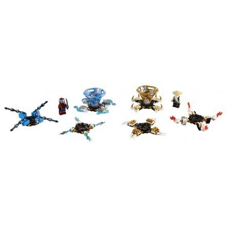 LEGO Ninjago Σπιντζίτσου Νία Και Γου - Spinjitzu Nya And Wu 70663  Αγόρι  LEGO, Lego Ninjago