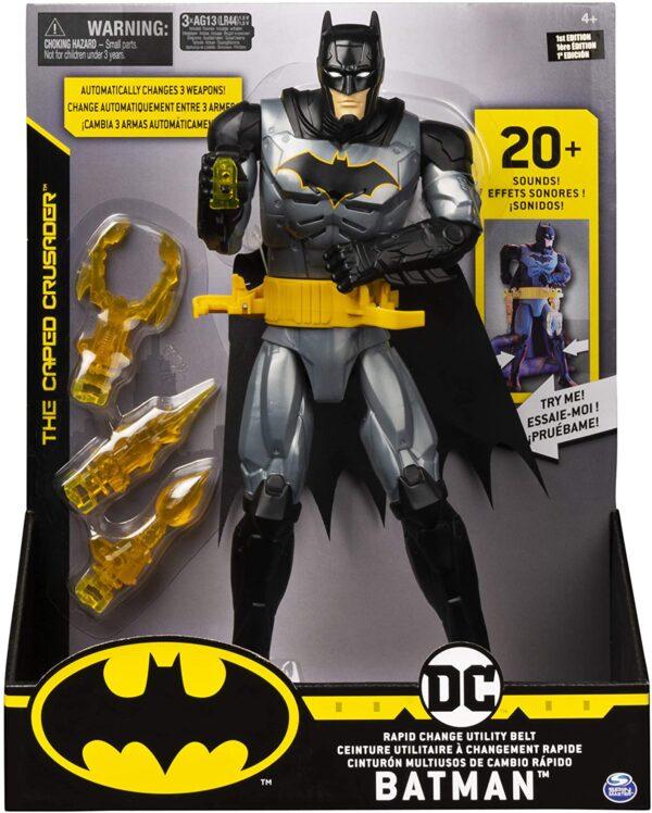 BATMAN (30εκ.) με Ζώνη Εξάρτησης 6055944 Batman Αγόρι 4-5 ετών, 5-7 ετών Batman