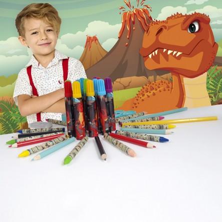 Art Case Σετ Ζωγραφικής Δεινόσαυρος 1023-66218  Αγόρι  AS Company Games