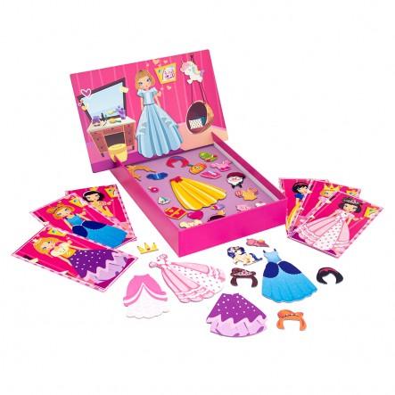 AS  Magnet Box  - Πριγκίπισσες Dressu Up 1029-64038  Αγόρι, Κορίτσι 3-4 ετών, 4-5 ετών AS Company Games