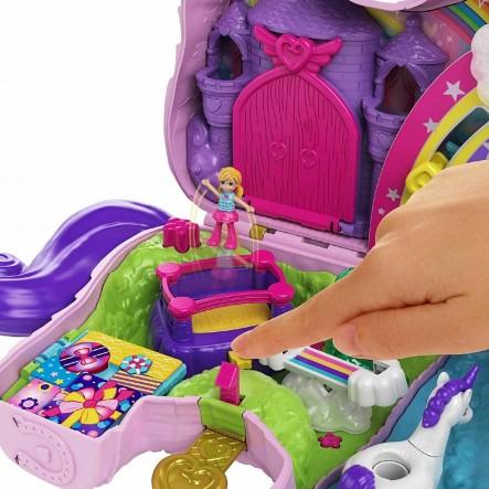 Polly Pocket Unicorn Party Μονόκερος Πινιάτα Έκπληξη Σετ GVL88 Polly Pocket 4-5 ετών, 5-7 ετών Κορίτσι