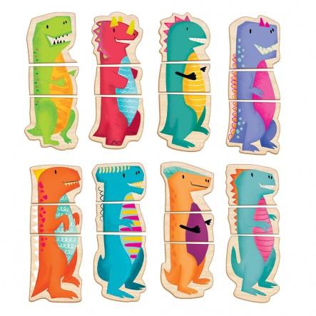 AS  Magnet Box  - Δεινόσαυροι 1029-64043  Αγόρι, Κορίτσι 2-3 ετών, 3-4 ετών AS Company Games