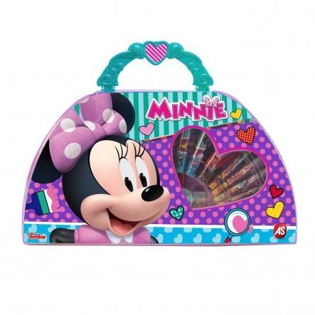 Minnie Mouse Σετ Ζωγραφικής Art Case Με Την Μίνυ 1023-66214 AS Company Games, MINNIE Κορίτσι  Disney