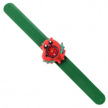 Wacky Watches Παιδικό Ρολόι Με Λουράκι Σιλικόνης Slap Δράκος 14482323  Κορίτσι 5-7 ετών, 7-12 ετών Wacky Watches