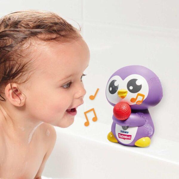 Toomies Βρεφικό  Παιχνίδι Μπάνιου Μουσικός Πιγκουίνος Toomies 1000-72724 Toomies 0-6 μηνών, 12-24 μηνών, 6-12 μηνών Αγόρι, Κορίτσι