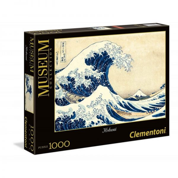 Clementoni Παζλ 1000 Museum Hokusai - Το Μεγάλο Κύμα 1260-39378 Clementoni Αγόρι, Κορίτσι 12 ετών +, 7-12 ετών