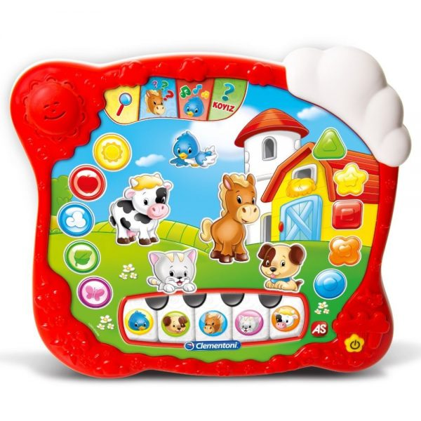 Baby Clementoni Βρεφικό  Παιχνίδι Το Πρώτο Τablet (μιλάει ελληνικά) 1000-63646  Αγόρι, Κορίτσι 12-24 μηνών Baby Clementoni