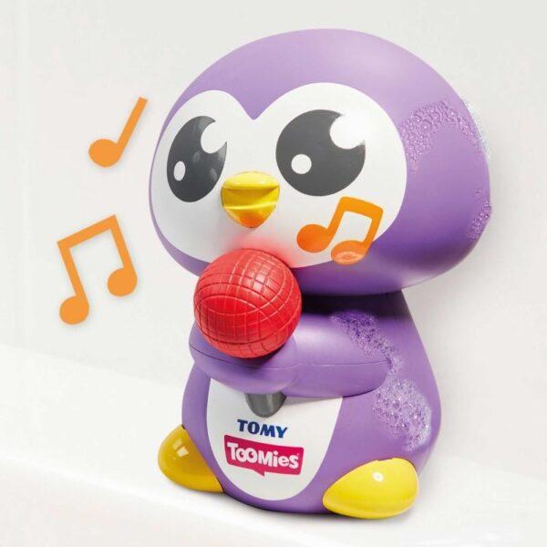 Toomies Αγόρι, Κορίτσι 0-6 μηνών, 12-24 μηνών, 6-12 μηνών Toomies Βρεφικό  Παιχνίδι Μπάνιου Μουσικός Πιγκουίνος Toomies 1000-72724