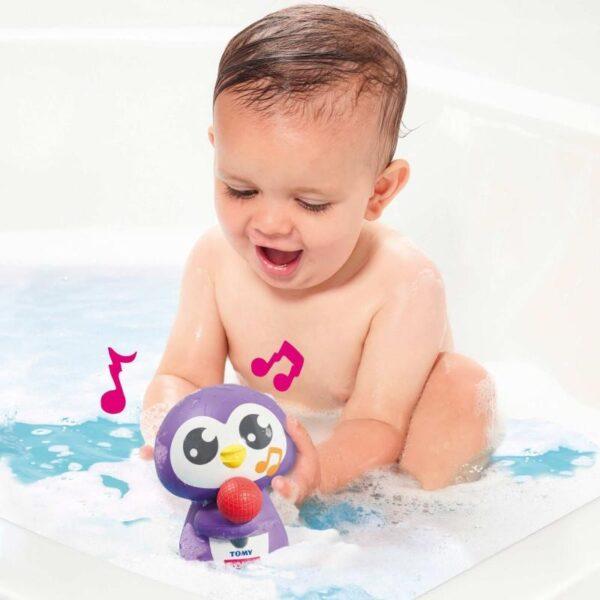 Toomies Βρεφικό  Παιχνίδι Μπάνιου Μουσικός Πιγκουίνος Toomies 1000-72724 Αγόρι, Κορίτσι 0-6 μηνών, 12-24 μηνών, 6-12 μηνών  Toomies