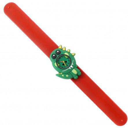 Wacky Watches  Wacky Watches Παιδικό Ρολόι Με Λουράκι Σιλικόνης Slap Δεινόσαυρος 14482293 Αγόρι, Κορίτσι 5-7 ετών, 7-12 ετών