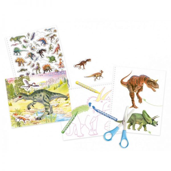 Susaeta Κόβω Και Κολλάω Με Τους Δεινόσαυρους 1696  Αγόρι, Κορίτσι 3-4 ετών, 4-5 ετών Susaeta
